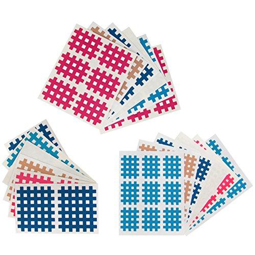 102-piezas-caja-surtida-de-parches-de-tiras-cruzadas-tamanos-a-b-e-c-kinesiologia-cross-tape