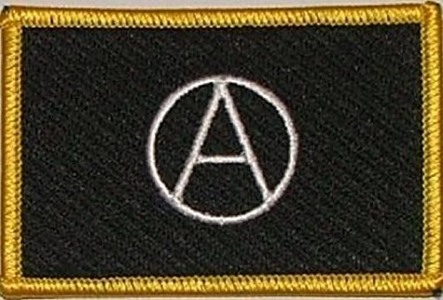 U24 toppa Anarchy anarchia Aufbügler Patch