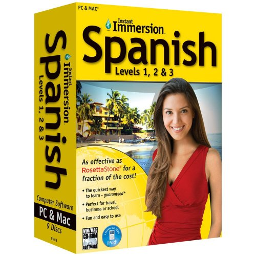 Instant Immersion Spanish Levels 1,2 & 3