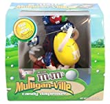 VINTAGE 2004 M&M's Mulligan Ville MINT CONDITION Golf Candy Dispenser ~ BRAND NEW IN ITS ORIGINAL BOX!