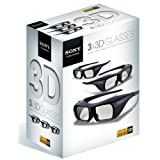 "Sony TDGBR250X3TI FULL HD 3D Active Shutter Brille (3er Pack)von ""Sony"""
