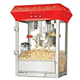 Great Northern Popcorn 6100 8 ounce Foundation Red Antique Style Popcorn Popper Machine