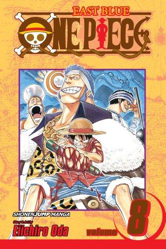 ONE PIECE ワンピース コミック8巻 (英語版)