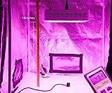 MarsHydro Mars300 LED Grow Light with Veg/Bloom Spectrum for Hydroponic Indoor Greenhouse/Garden Plant Growing, 132W True Watt Panel