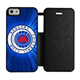 Custom Scottish FC Rangers football club iPhone 5,5S silicone Rubber and plastic Red&Black&White Shell Case Cover(HD image)