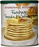 Stonewall Kitchen Farmhouse Pancake and Waffle Mix, 16 Ounce Can