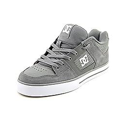 DC Men\'s Pure Sneaker,Battleship,9.5 M US