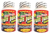 Fruit Juice Extreem TM HIGH POTENCY Amazon ACAI, Blueberry, Goji Berry, Mangosteen, Hawaiin Noni, Black Cherry, Resveratrol, and more, antixidants