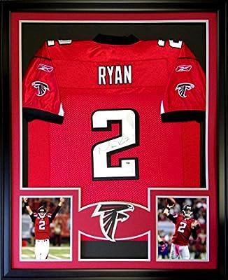 Matt Ryan Framed Jersey Signed PSA/DNA COA Autographed Atlanta Falcons