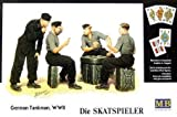 German Tanker - Playing Card (Set of 4 Figures w/Jerrican) by Masterbox