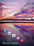 Burlington VT - The Best of Everything (Search Word Pro - Travel Series)