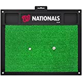 "MLB Washington Nationals Golf Hitting Mat, 20"" X 17""/Small, Black"