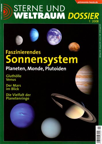 Faszinierendes Sonnensystem: Planeten, Monde, Plutoiden. 1/08