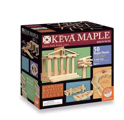 Keva Maple: 50 Pc Plank Set front-1014139