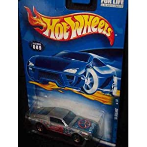 Hippie Mobiles Series 1 1968 Mustang White Peace Signs 2001-89 Collectible Collector Car Mattel Hot Wheels 1:64 Scale
