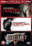 Hostel/Hostel: Part II/Hatchet [DVD]