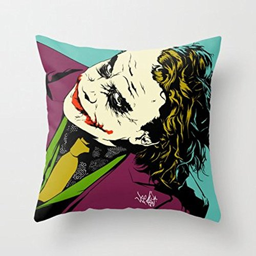 Autumn Coming Joker So Serious Throw Pillow By Vee Ladwafor Your Home