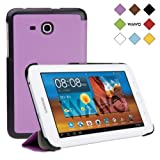 WAWO Samsung Tab 3 Lite 7.0 Inch Tablet Fold Case Cover - purple