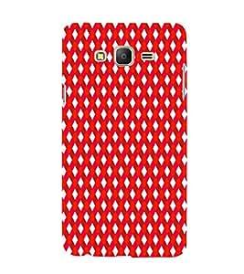 EPICCASE stripe daimonds Mobile Back Case Cover For Samsung Galaxy E5 (Designer Case)
