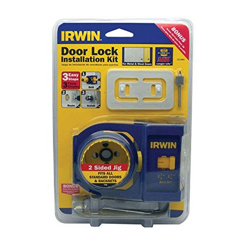 Irwin Tools Bi Metal Door Lock Installation Kit 3111002