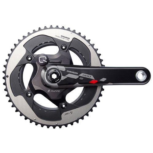 SRAM Red22 Quarq Powermeter Road Crankset, 172.5mm 130 BCD BB30 sram xx1 x9 xo gxp bb30