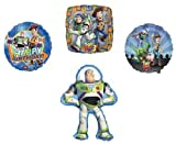 BUZZ Lightyear Woody TOY STORY (4) PARTY Balloons SET