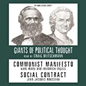 Communist Manifesto and Social Contract (Knowledge Products) Giants of Political Thought Series | [Ralph Raico]
