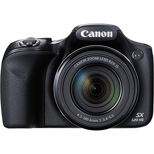 Canon-PowerShot-SX520-16Digital-Camera-with-42x-Optical-Image-Stabilized-Zoom-with-3-Inch-LCD-Black-International-Version-No-warranty