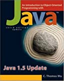 img - for An Introduction to Object-Oriented Programming with Java 1.5 Update with OLC Bi-Card book / textbook / text book