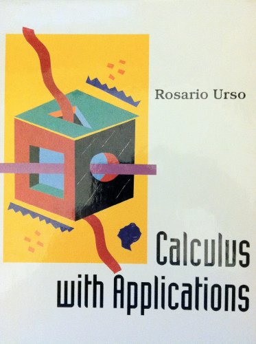 Calculus With Applications PDF