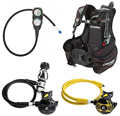 Cressi Start BCD Regulator Scuba Gear Package