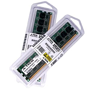 4GB [2x2GB] DDR3-1066 (PC3-8500) RAM Memory Upgrade Kit for the eMachines EL Series EL1352G-41W (Genuine A-Tech Brand)