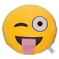 32cm Emoji Smiley Emoticon Yellow Rou…