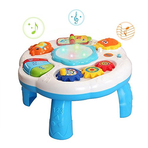 baby lernspa spieltisch mit musik und licht f r kinder ab. Black Bedroom Furniture Sets. Home Design Ideas