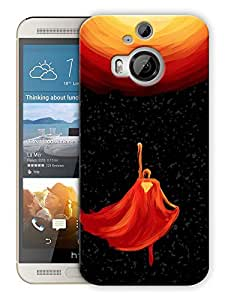 """Humor Gang Man Up In The Sky Printed Designer Mobile Back Cover For """"HTC ONE M9 PLUS"""" (3D, Matte, Premium Quality Snap On Case)"""