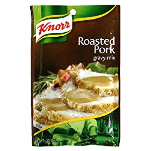 Knorr Pork Gravy, 1.3-Ounce Packages (Pack of 12)