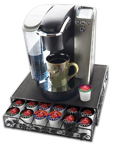 New Keurig K Cup Coffee Beverage Storage Drawer Holds 36