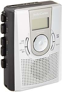 OHM Electron Audio Comm メモリー機能付 カセットレコーダー (07-7619) CAS-R501E