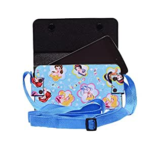 Colorkart Printed Mobile Pouch Handbag With Adjustable Strip For Coolpad Note 3 Plus Mobile Phone (Sky Blue)