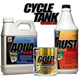 Cycle Tank Sealer Kit - From KBS Coatings - Up to 5 Gal Tank - #1 Rated Gas Tank Sealer