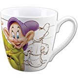 Artist Sketches of Dopey Dwarf from Snow White 15 oz. Porcelain Mug