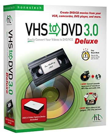 VHS To DVD 3.0 Deluxe - Honest Technology