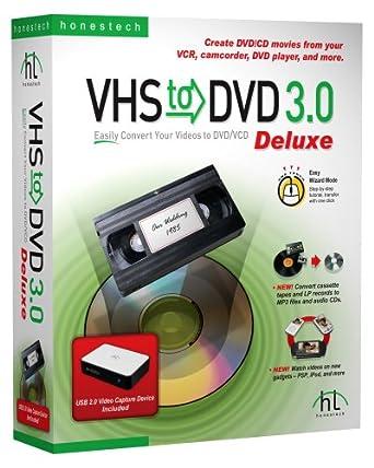 vhs to dvd 3 0 deluxe old version guide haivl66. Black Bedroom Furniture Sets. Home Design Ideas