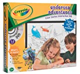 Crayola Undersea Adventures Colouring Set And DVD