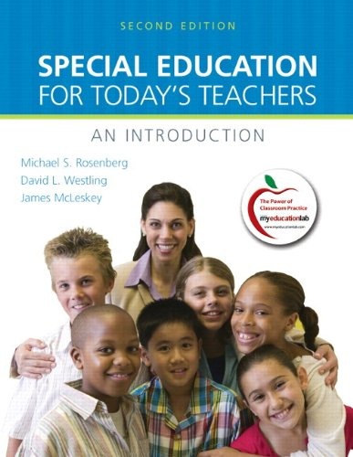 Special Education for Today's Teachers: An Introduction...