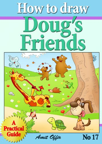 """how to draw """"doug's friends"""" step by step (how to draw comics and cartoon characters)"""
