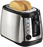 Hamilton Beach 22811C 2-Slice Toaster, Stainless Steel