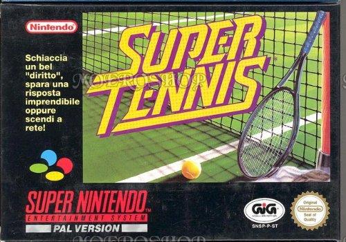 Super Tennis - Super Nintendo Snes