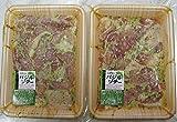 チキンバジル 1kg( 250g×4P) 肉の匠テラオカ 本格バジルソースに漬け込んだプリプリの鶏モモから旨味たっぷりのジューシーな肉汁がたまらない