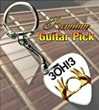 3OH!3 Streets Of Gold Premium Guitar Pick Keyring